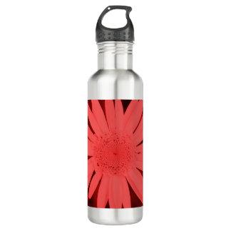 ボトルコレクション-赤いデイジー ウォーターボトル
