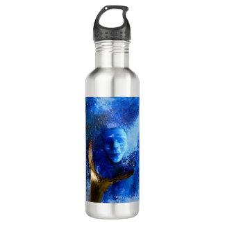 ボトルコレクション-青いマスク ウォーターボトル
