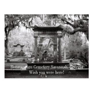 ボナヴェントゥラの墓地のサバンナ ポストカード