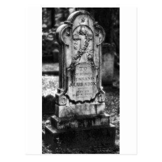 ボナヴェントゥラの墓地のサバンナ、GA はがき