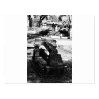 ボナヴェントゥラの墓地のサバンナ、GA ポストカード