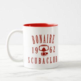 ボネールのスキューバクラブ ツートーンマグカップ