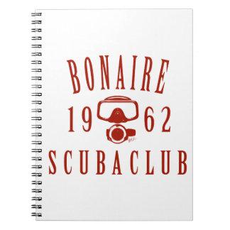 ボネールのスキューバクラブ ノートブック