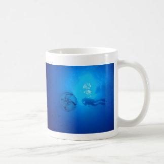 ボネールのスキューバマグのくらげ コーヒーマグカップ