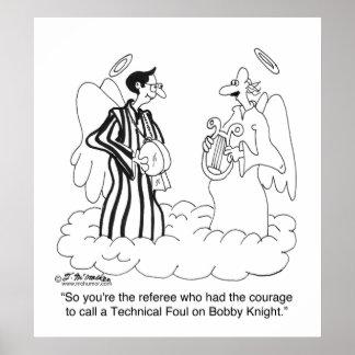 ボビーの騎士のテクニカルファウルか。 ポスター