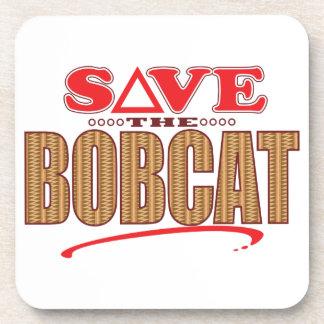 ボブキャットの保存 コースター