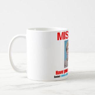 """ボブスコットCPA: 白に11のozのクラシックのマグを""""恋しく思います"""" コーヒーマグカップ"""