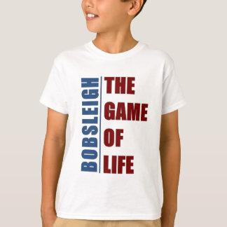 ボブスレー生命のゲーム Tシャツ