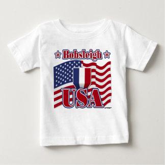 ボブスレー米国 ベビーTシャツ