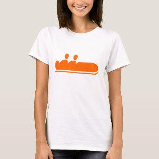 ボブスレー-オレンジ Tシャツ