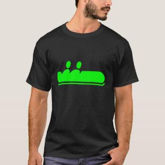 ボブスレー-緑 Tシャツ
