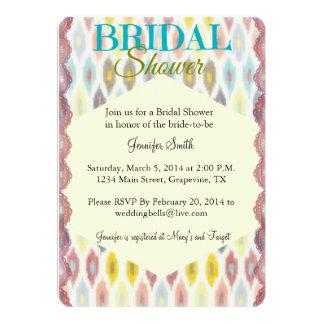 ボヘミアのシックなブライダルシャワーの招待状 カード