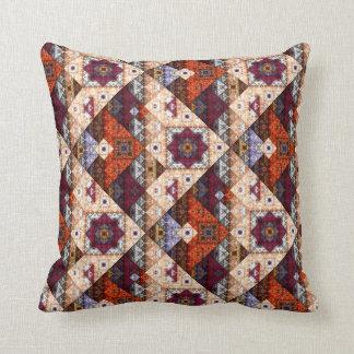 ボヘミアの種族のヴィンテージパターン枕 クッション