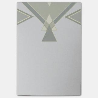 ボヘミアの種族の幾何学的な|灰色の習慣 ポストイット