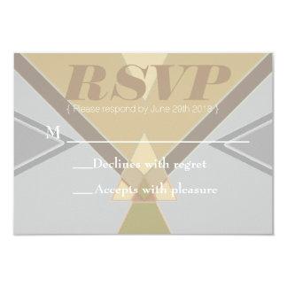 ボヘミアの種族の|のパステル| RSVPカード 8.9 X 12.7 インビテーションカード