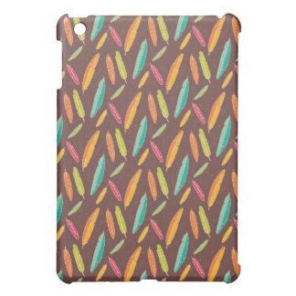 ボヘミアの羽の箱の精通した無光沢のiPad Miniケース iPad Mini カバー