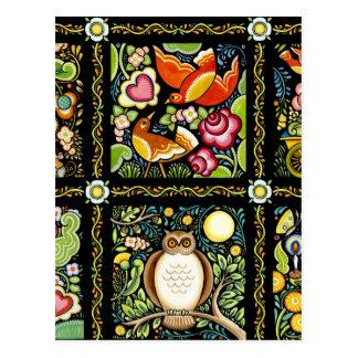 ボヘミアMOOSHKAのデザイン ポストカード