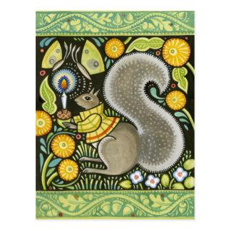 ボヘミアMOOSHKAの芸術 ポストカード
