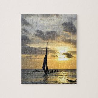 ボラカイ島の日没 ジグソーパズル