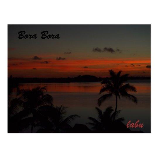 ボラボラ島 ポストカード