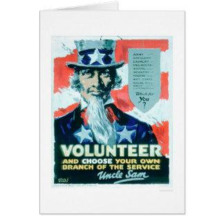 ボランティアは選び、あなたの枝(US02082)を カード