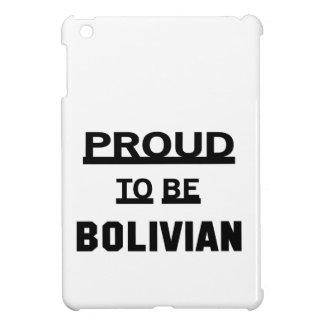 ボリビアがあること誇りを持った iPad MINIケース