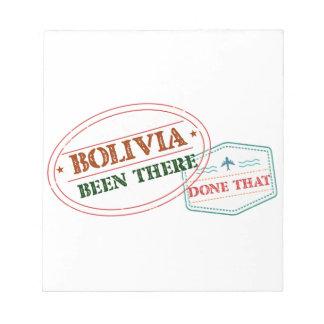 ボリビアそこにそれされる ノートパッド
