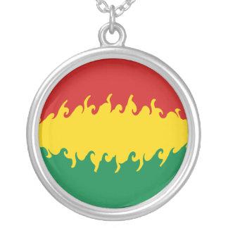 ボリビアのすごい旗 ペンダント