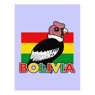 ボリビアのアンデスコンドル ポストカード