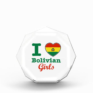 ボリビアのデザイン 表彰盾