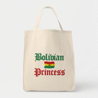ボリビアのプリンセス トートバッグ