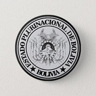 ボリビアの円形の紋章 5.7CM 丸型バッジ