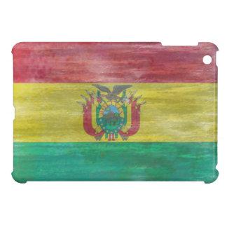 ボリビアの動揺してなボリビアの旗 iPad MINIカバー