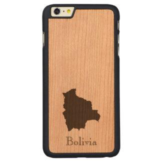 ボリビアの地図 CarvedチェリーiPhone 6 PLUSスリムケース