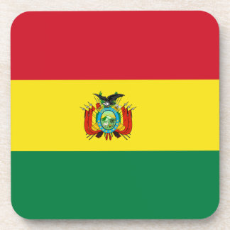 ボリビアの旗のコルクのコースター コースター