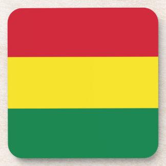 ボリビアの旗のコルクのコースター ビバレッジコースター