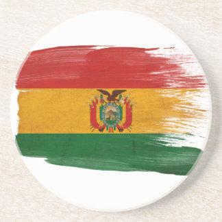 ボリビアの旗のコースター コースター