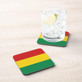 ボリビアの旗のコースター 飲み物コースター