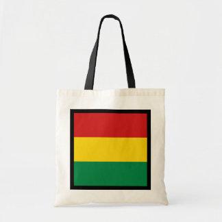 ボリビアの旗のバッグ トートバッグ