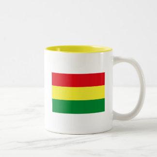 ボリビアの旗のマグ ツートーンマグカップ
