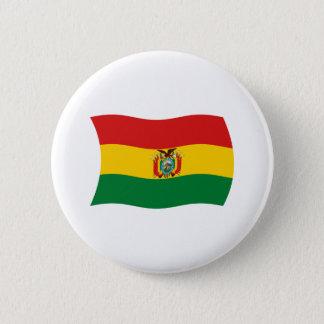 ボリビアの旗ボタン 5.7CM 丸型バッジ