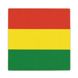 ボリビアの旗 ウッドコースター