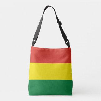 ボリビアの旗 クロスボディバッグ