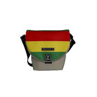 ボリビアの旗 クーリエバッグ