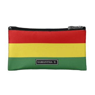 ボリビアの旗 コスメティックバッグ
