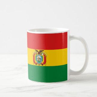 ボリビアの旗 コーヒーマグカップ