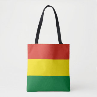 ボリビアの旗 トートバッグ