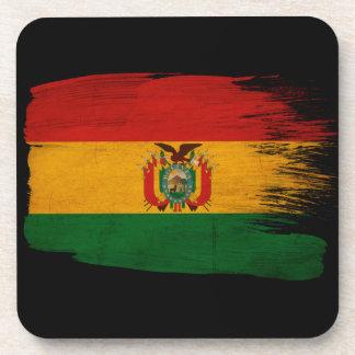 ボリビアの旗 ドリンクコースター