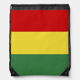 ボリビアの旗 ナップサック