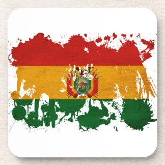 ボリビアの旗 ビバレッジコースター